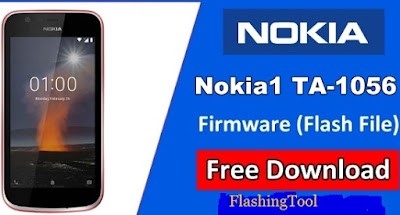Nokia 1 TA 1056 Flash Tool (Flash File Firmware) Free Download