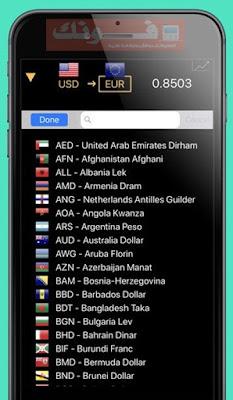 التطبيق الذكى Currency Cam Converter - موقع فونك