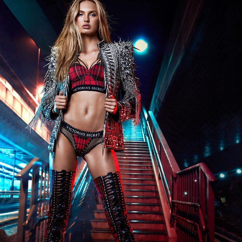 Get a look at the Victoria's Secret x Balmain collaboration