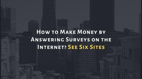 make money answering surveys