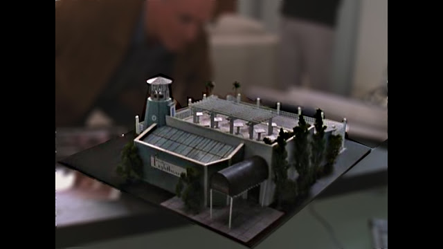 concept model of The Balboa Lighthouse Restaurant The O.C.