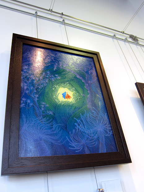 Martin Hsu Art Disney Wonderground Grand Opening- Original Paintings Of Mickey Mouse