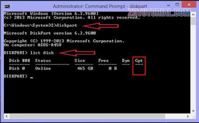 2 Cara Cek Tipe Partisi Hardisk (MBR atau GPT) di Windows