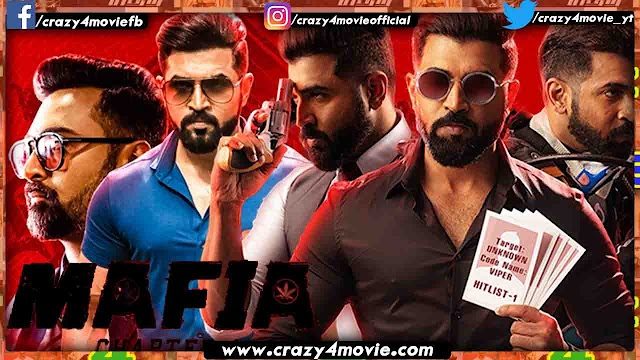 Mafia Hindi Dubbed Full Movie | Arun Vijay's Mafia Chapter 1 In Hindi
