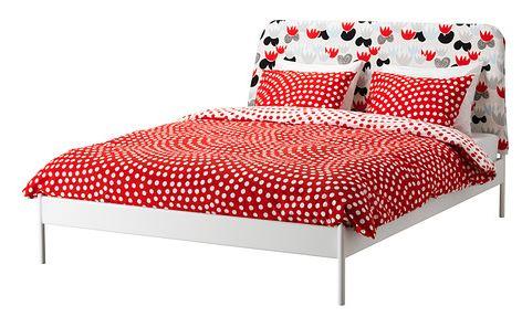 Fodera Per Testata Letto Matrimoniale Ikea.Arredo A Modo Mio Letti Ikea Tutti I Modelli Matrimoniali