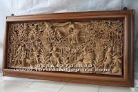 relief ukir ramayana 3 dimensi