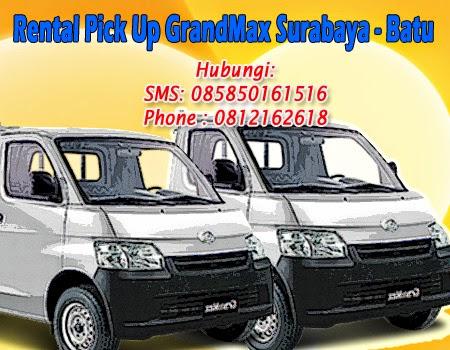 Sewa PickUp GranMax Surabaya-Batu