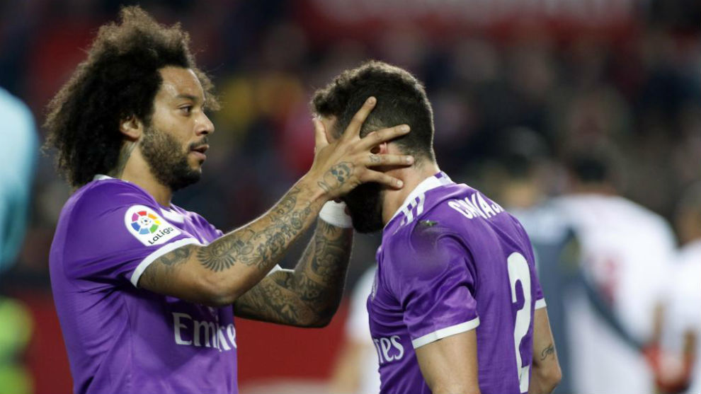 Carvajal and Marcelo to return for the Champions League