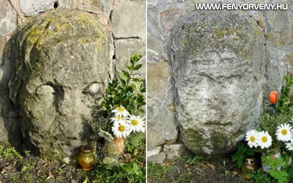 Esztergomi gyógyító kőfejek