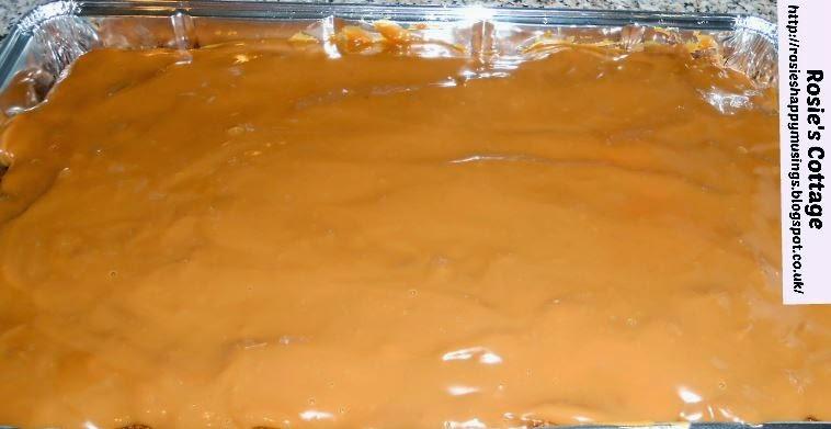 Scottish School Caramel Cake Recipe