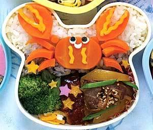 Các món ăn ngon trong hộp cơm trưa của trẻ em Nhật