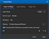 Imaseq Helper - Image Export Extension For Inkscape Screenshot