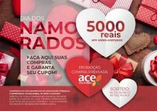 Promoção ACE Holambra Dia dos Namorados 2019 - 5 Mil Reais Vales-Compras