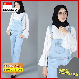 DMB1266 JUMPSUIT OVERALL CARDIGAN OVERALL JEANS POLOS JUMPSUIT JEANS BARU 2021