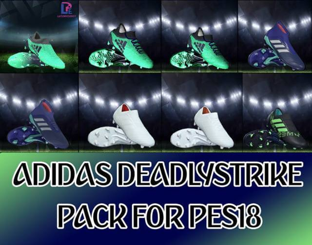 Adidas Deadly Strike Boots Pack PES 2018
