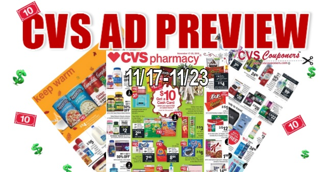 CVS Weekly Ad Preview 1117-1123