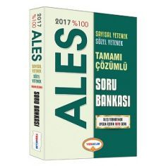 Yediiklim ALES Tamamı Çözümlü Soru Bankası (2017)