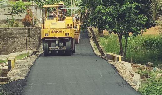 Perbaikan Jalan Kota Sarolangun Menghabiskan Anggaran Sebesar Rp.9M