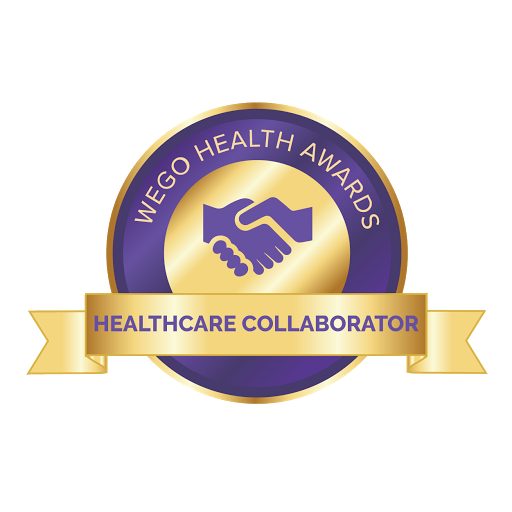 Nominated for the WEGO Health Awards as Healthcare Collaborator