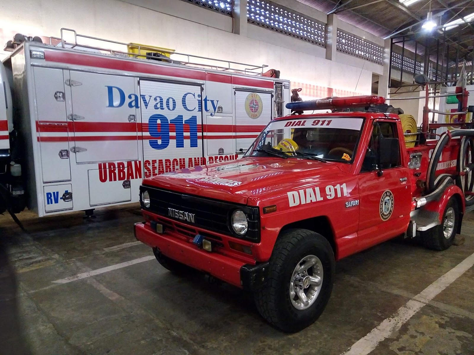 Arsenal VR One Camera Sample - Davao Rescue Vehicles