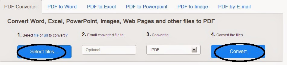 How To Create PDF file from Word, Powerpoint, Excel and Image