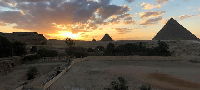 Las pirámides de Giza, en Egipto.UN News/Matthew Wells