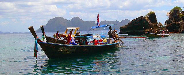 Trang islands day tour