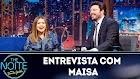 The Noite: Entrevista com Maisa - 15/03/2019