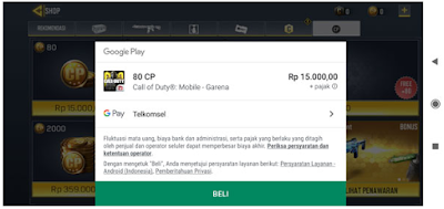 Cara Top Up Call Of Duty Mobile Garena || Top up cod mobile