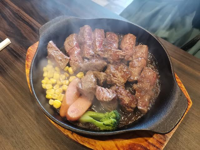 焼肉Rinランチメニュー みすじステーキランチ