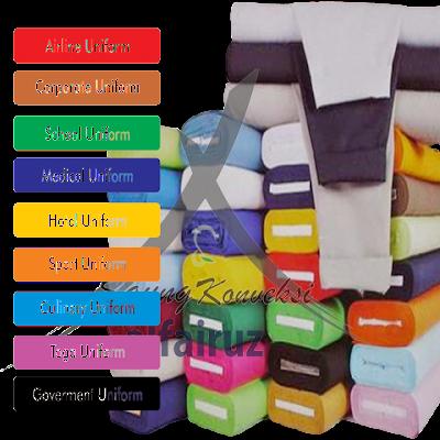 bahan baju wisuda palembang