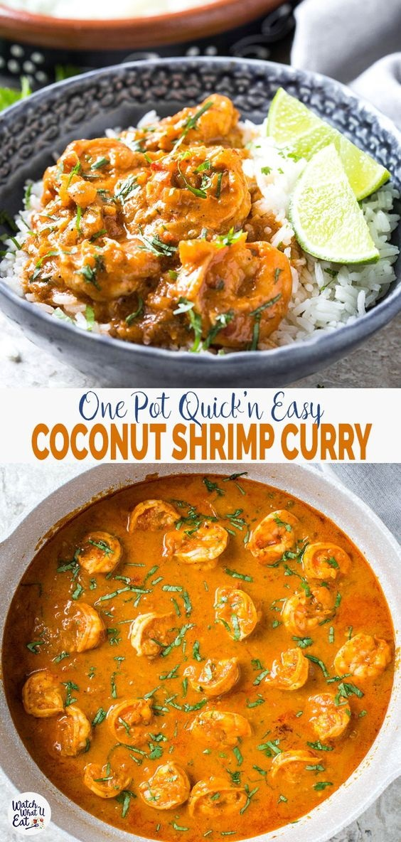 Quick Easy And Healthy Coconut Shrimp Curry