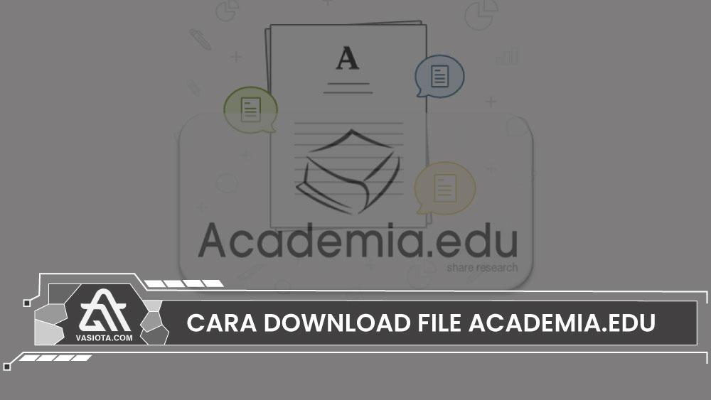 cara download academia