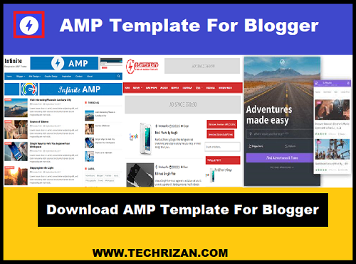 Download AMP Template For Blogger