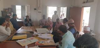 रमेश सिंह की विजय सुनिश्चित करने के शिक्षणेत्तर व  शिक्षक संघ ने झोंकी ताकत | #NayaSaberaNetwork