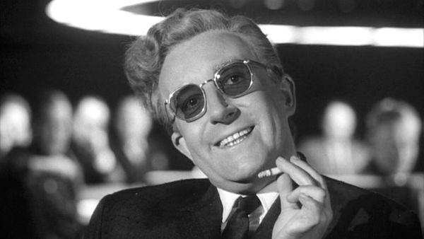 Peter Sellers as Dr Strangelove