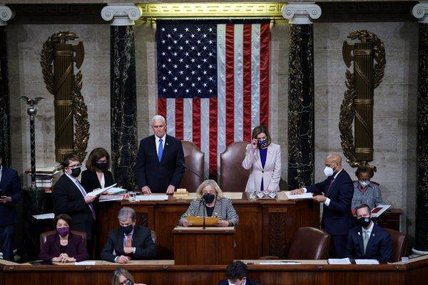 El Congreso de EE.UU. valida el triunfo de Biden