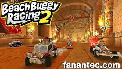 تحميل لعبة beach buggy racing 2 مهكرة اموال غير محدودة للاندرويد اخر اصدار