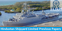 Hindustan Shipyard Limited Previous Papers