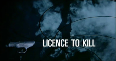 Cartaz de Licence to kill