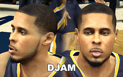NBA 2K13 D. J. Augustin Cyberface Mod Patch
