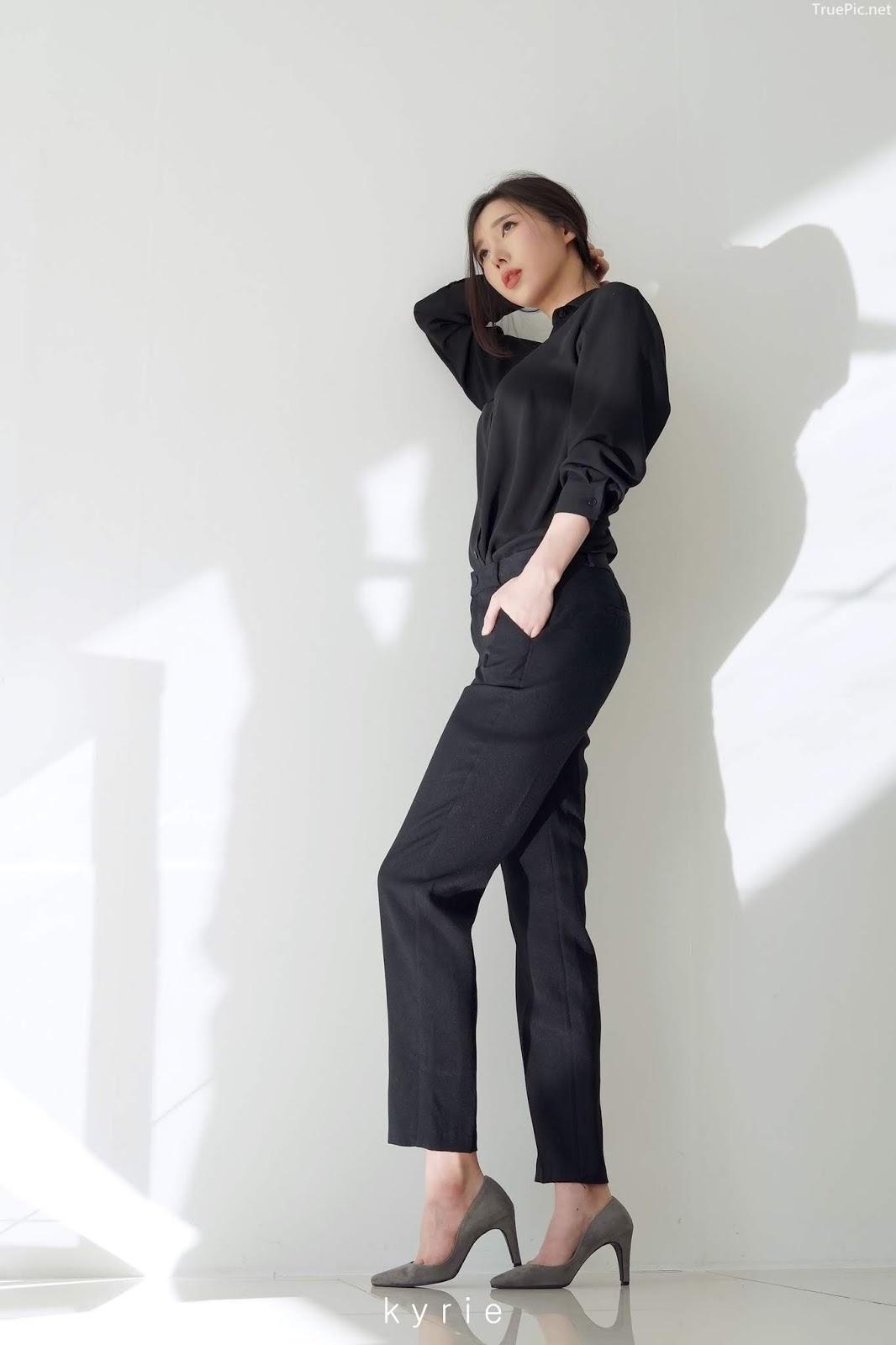 Korean racing queen - Song Ju Ah - Studio Photoshoot - Picture 3