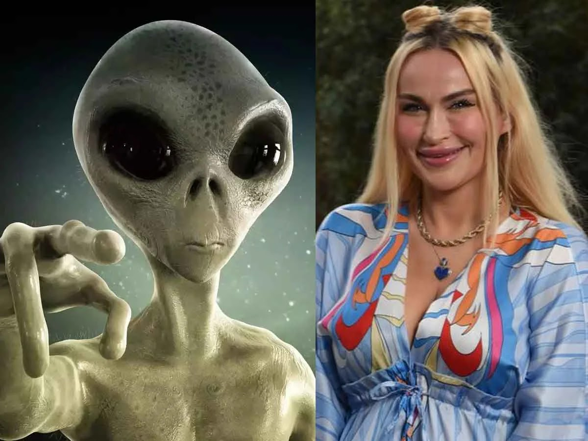 Starry Eyed Woman Claims To Be In Love With Alien