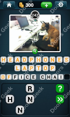 Cheats, Solutions, Walkthrough for PicWords Level 242 for android and iphone