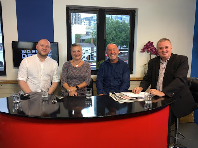madmumof7 panellist on Birmingham TV debate show