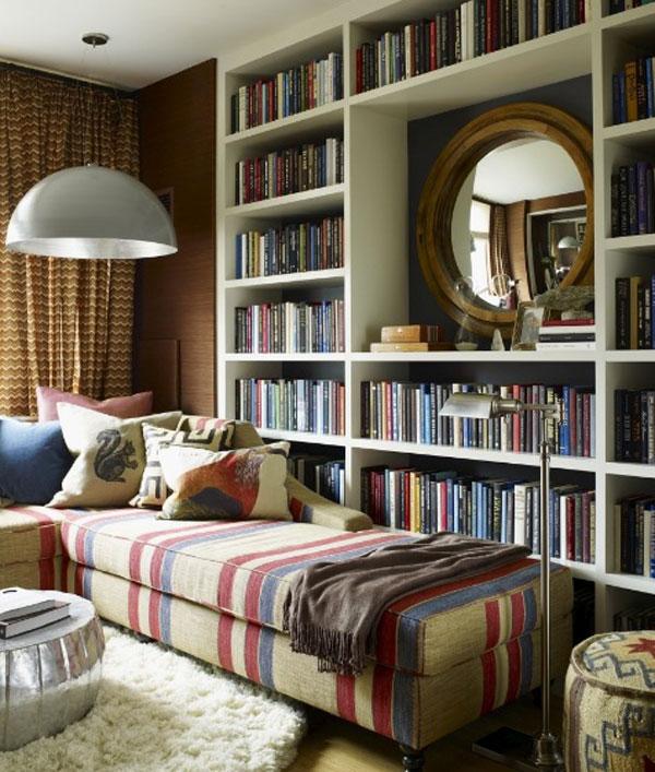 Resultado de imagen para bibliotecas en casa