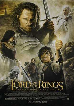 The Lord of the Rings: The Return of the King 2003 BRRip 720p Dual Audio In Hindi English