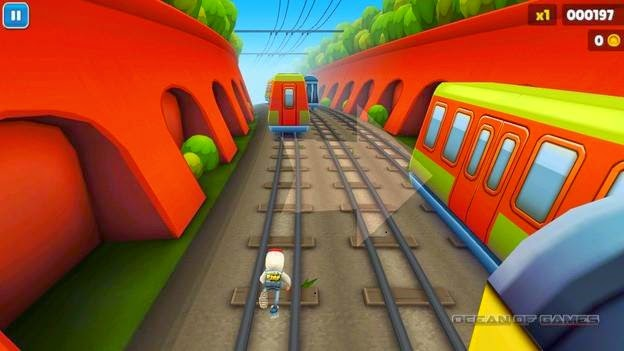 Subway Surfers Controls Keyboard