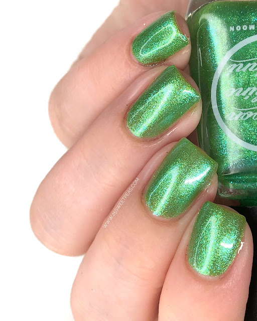 Moon Shine Mani The Unconventional Challenge 25 Sweetpeas