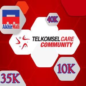 Daftar Telkomsel Community 10K dan 35K Sekaligus, Bisakah?